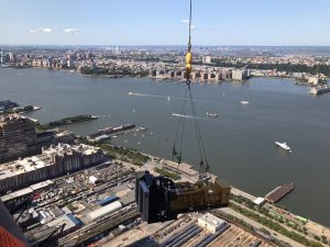 PMM Cranes Master Rigger NYC aerial