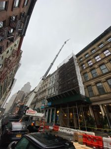 High Rise Rigging PMM Cranes Master Riggers NYC Slab to Slab Window Walls 10