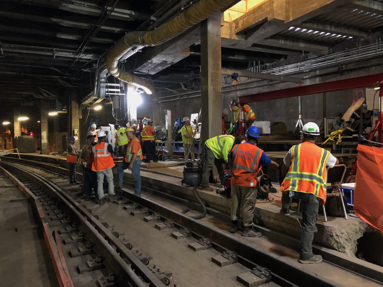 NYC Specialized Rigging for Subway Construction 2