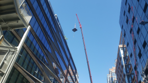 PMM Cranes Rooftop Rigging NYC 4 528 W 28 Pool c